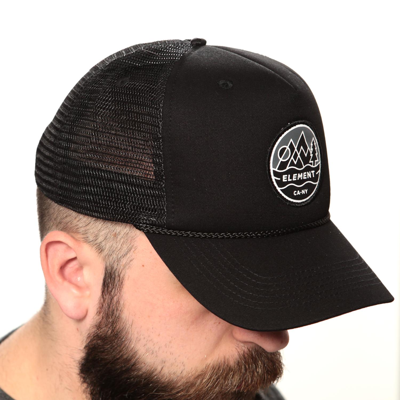 Vendita online Emblem Ii Trucker Cap - Flintblk - Element - Cappelli ... bcdcc69b88a