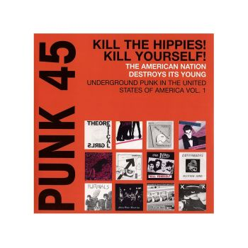 Punk 45 - Singles Cover Art Of Punk