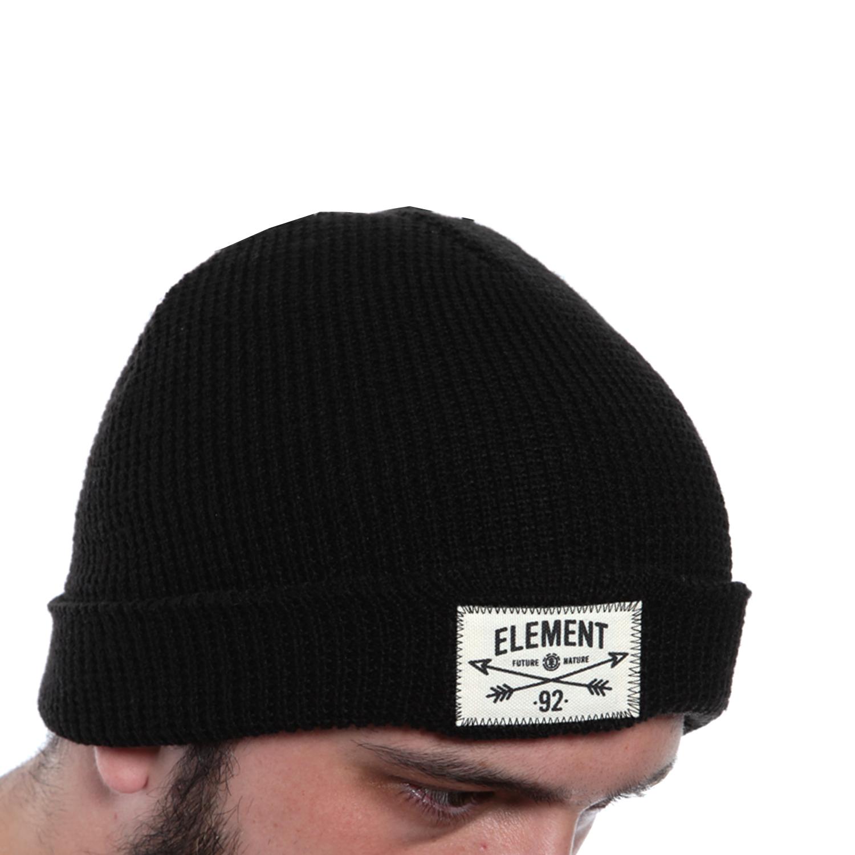 8268affcfbd Vendita online Covey Beanie - Dark Charcoal - Element - Beanie ...